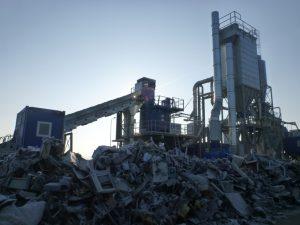 Neue Verwertungsanlage in Frumuseni (RO)